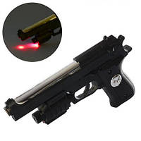 Игровой Пистолет на пульках с лазером