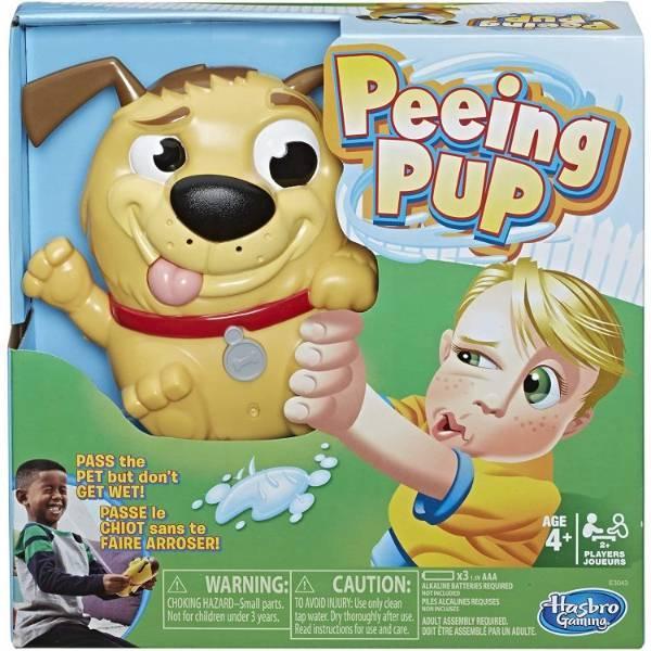 Hasbro Настольная игра писяющий щенок Веселая собака E3043 Gaming Peeing Pup Game