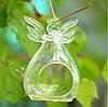 Подвесной стеклянный подсвечник - Ангел 11 см, фото 2