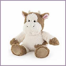 Мягкая игрушка - грелка Корова Веснушка 34×21×10 см