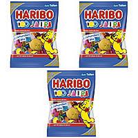 Конфеты жевательные микс HARIBO 100 лет 3 * 175 грамм. (525 грамм)