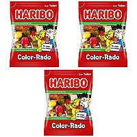 Конфеты жевательные Haribo Color-Rado 3 * 200 грамм (600 грамм)