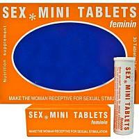 Возбуждающие таблетки для женщин SEX MINITABLETTEN