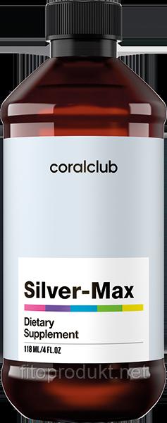 Сильвер-Макс  (Silver-Max) коллоидное серебро против гриппа 118 мл