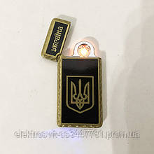 USB зажигалка Украина (Спираль накаливания) HL-141