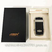 Электроимпульсная зажигалка в подарочной упаковке Jobon (USB) XT-4963. Цвет: серебро