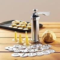 Кондитерский шприц пресс для печенья с насадками Biscuits Кондитерский шприц в Украине