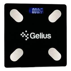Ваги підлогові Gelius Floor Scales Zero Fat GP-BS001 Black (Bluetooth)