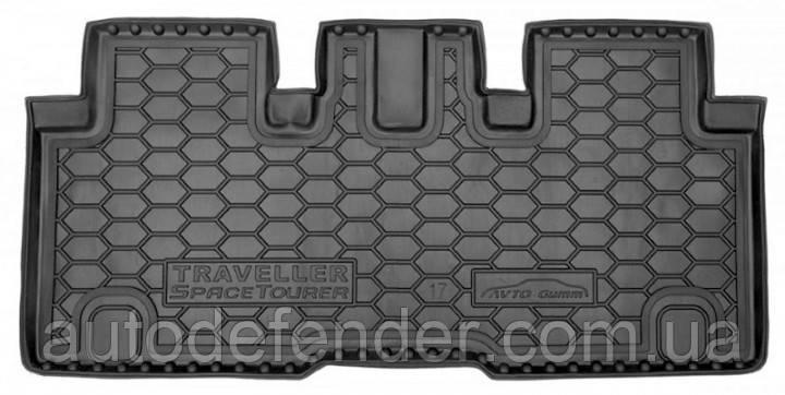 Килимок в багажник для Citroen Spacetourer 2016-2021гумовий (AVTO-Gumm)