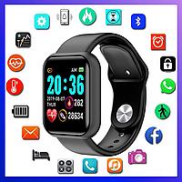 Умные часы Apple watch, фитнес трекер, Fitnes tracker, пульсометр, розумний годинник, реплика 444