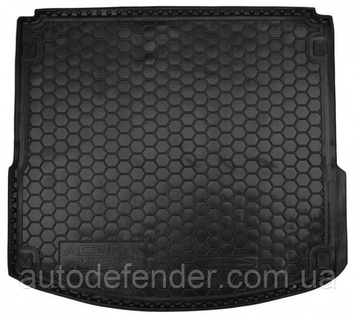 Килимок в багажник для Acura MDX III 2013-гумовий (AVTO-Gumm)