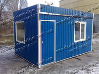 Изготовление бытовок, проходных, прорабских Киев