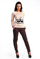 Молодежные женские брюки классического кроя