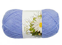 Пряжа для ручного вязания Ареола (полушерсть № 10) сапфир