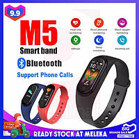 Умные часы Xiaomi Mi band 5, Fitnes tracker M5, часы для фитнеса, smart watch, смарт годинник, РЕПЛИКА Wind