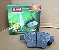 Колодки тормозные задние Geely Emgrand EC7 1064001725 Uni-Brakes Premium