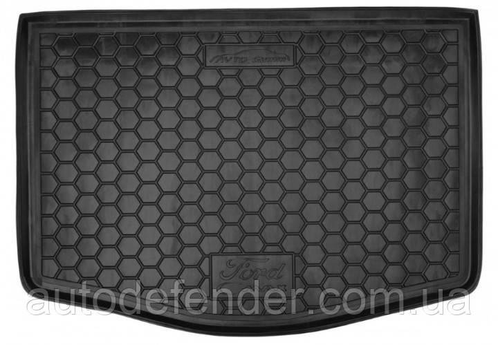 Килимок в багажник для Ford C-Max II 2011-2021гумовий (AVTO-Gumm)
