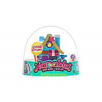 Фигурка Jazwares Nanables Small House Зимний чудесный, Книжный магазин У ками (NNB0032)