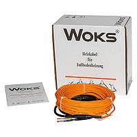 Нагревательный кабель двухжильный Woks-18 160 Вт (8м)