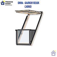Окно - Балкон Cabrio Velux (Велюкс) GDL 2066 PK19 94*252, фото 1