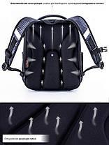 Шкільний ранець для хлопчика в 1-4 клас рюкзак ортопедичний 29*36 см Winner One 7008, фото 3