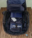 Рюкзак Bobby Антивор синий с USB портом, фото 8