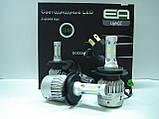 Комплект (2шт) светодиодных автомобильных ламп LED S2 H7 4Drive, фото 6