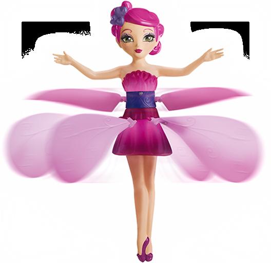 Кукла летающая фея Flying Fairy | Летит за рукой, волшебство в детских руках