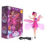 Кукла летающая фея Flying Fairy | Летит за рукой, волшебство в детских руках, фото 2