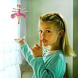 Кукла летающая фея Flying Fairy | Летит за рукой, волшебство в детских руках, фото 6