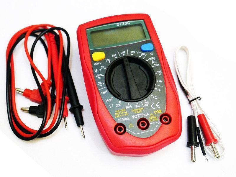 Мультиметр тестер амперметр вольтметр DT UT33C