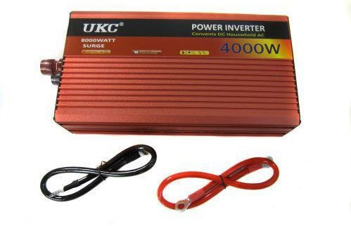 Преобразователь автомобильный напряжения инвертор AC/DC AR 4000W 24V