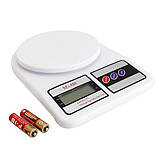 Кухонные электронные весы SF400 10 кг, фото 7