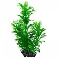 Искусственное растение для аквариума Tetra DecoArt Plantastics с утяжелителем Green CabombaS 15 см