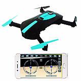 Квадрокоптер селфи-дрон JY018 с Wi-Fi-камерой, фото 3