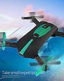 Квадрокоптер селфи-дрон JY018 с Wi-Fi-камерой, фото 9