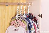 Універсальна складна вішалка для одягу Wonder Hanger | Вандер Хэнджер для економії місця, фото 2