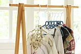 Універсальна складна вішалка для одягу Wonder Hanger | Вандер Хэнджер для економії місця, фото 5