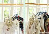 Універсальна складна вішалка для одягу Wonder Hanger | Вандер Хэнджер для економії місця, фото 7