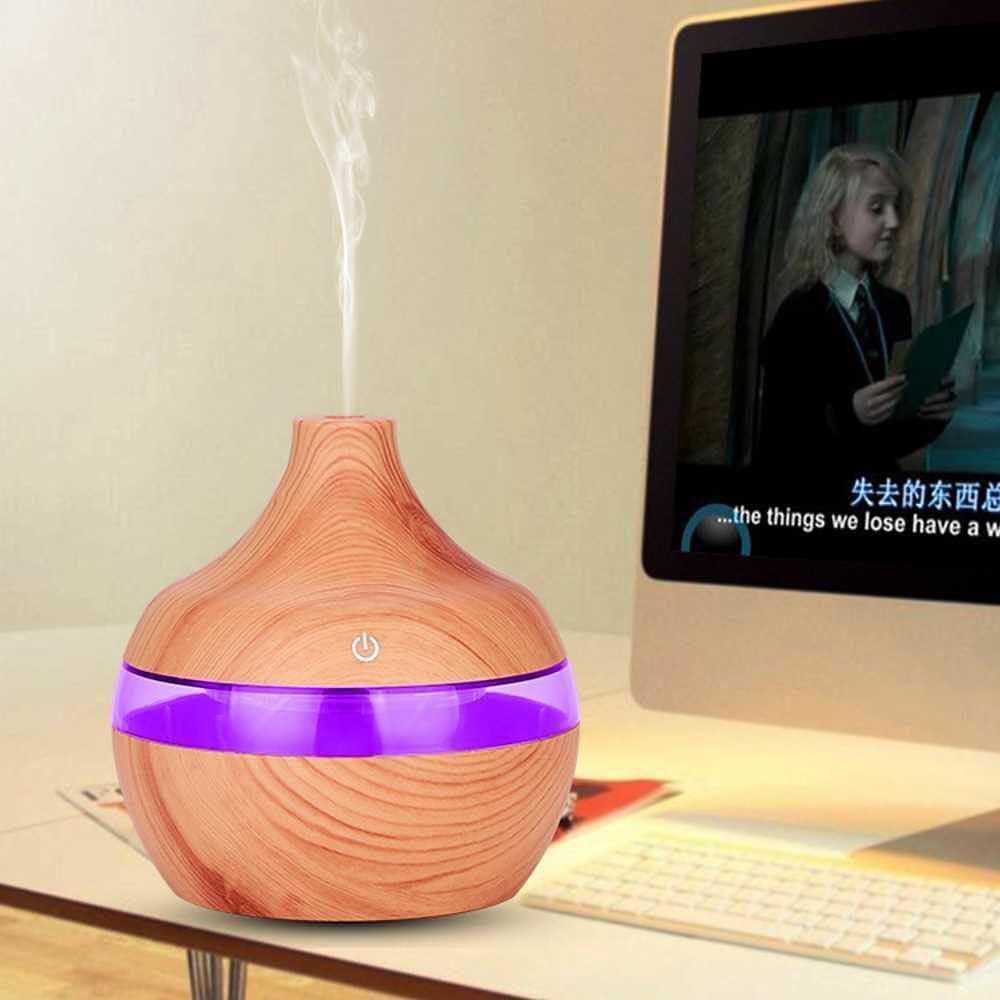 Зволожувач повітря Air Purifier KPY-25S | арома лампа з LED підсвічуванням 7 кольорів | очищувач повітря