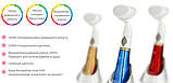 Ультразвуковая щетка для умывания и чистки лица Pobling face cleaner КРАСНАЯ, фото 9