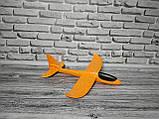 Понад швидкий метальний літак планер трюкач на далеку відстань (Жовтий), фото 2