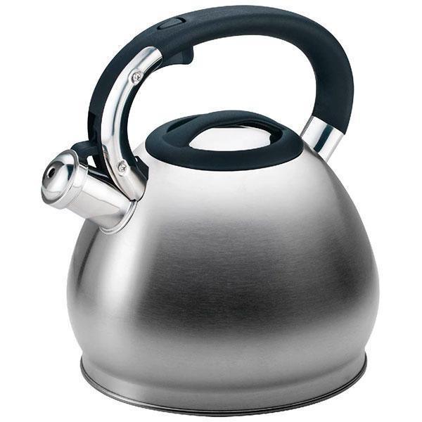 Чайник зі свистком з нержавіючої сталі Maestro MR-1334 (3 л)   металевий чайник Маестро, Маестро