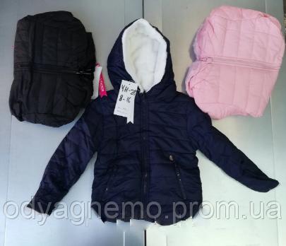 Двухсторонняя куртка на меху для девочек Taurus оптом, 8-16 лет.Артикул: YH28
