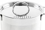 Каструля з кришкою з нержавіючої сталі Maestro MR-3511-18 (2 л)   набір посуду Маестро   каструлі Маестро, фото 5