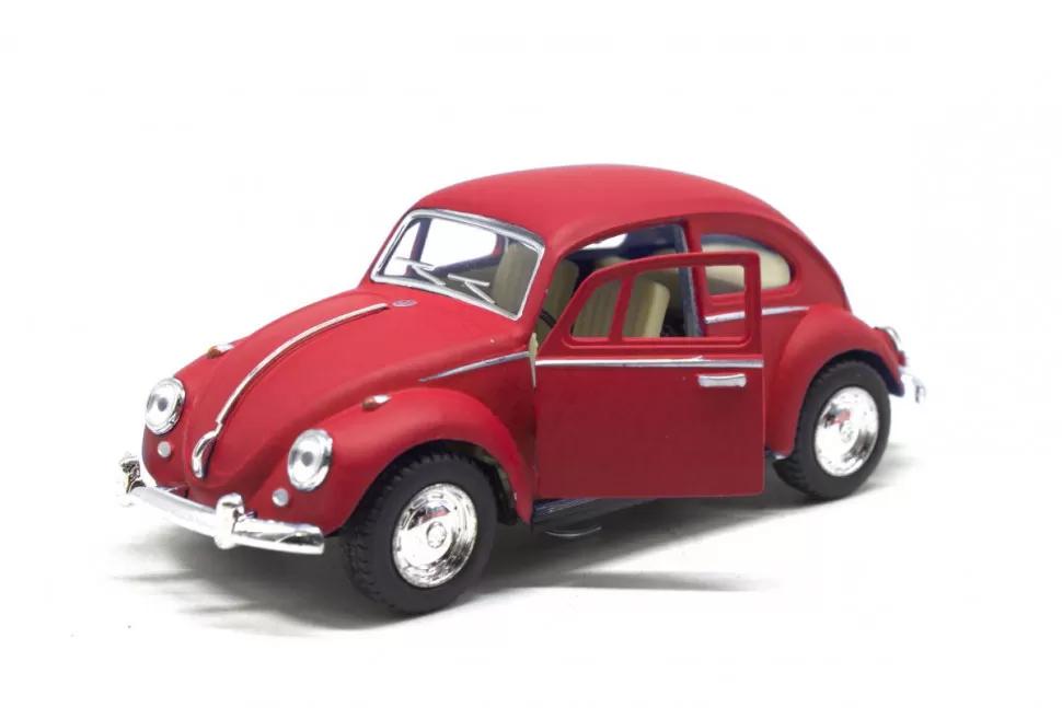 Игрушечная машинка металлическая Kinsmart KT5057WM Volkswagen Beetle Красный