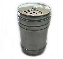 Ємність для спецій з нержавіючої сталі Benson BN-626 | баночка для спецій | спецовник з нержавійки