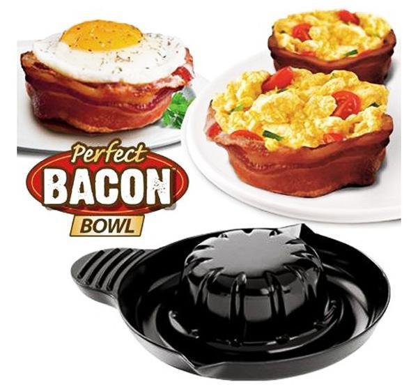 Набір форм для випічки Perfect Bacon Bowl (їстівна тарілка з бекону)