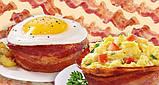 Набір форм для випічки Perfect Bacon Bowl (їстівна тарілка з бекону), фото 3