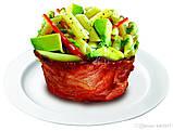 Набор форм для выпечки Perfect Bacon Bowl (съедобная тарелка из бекона), фото 4